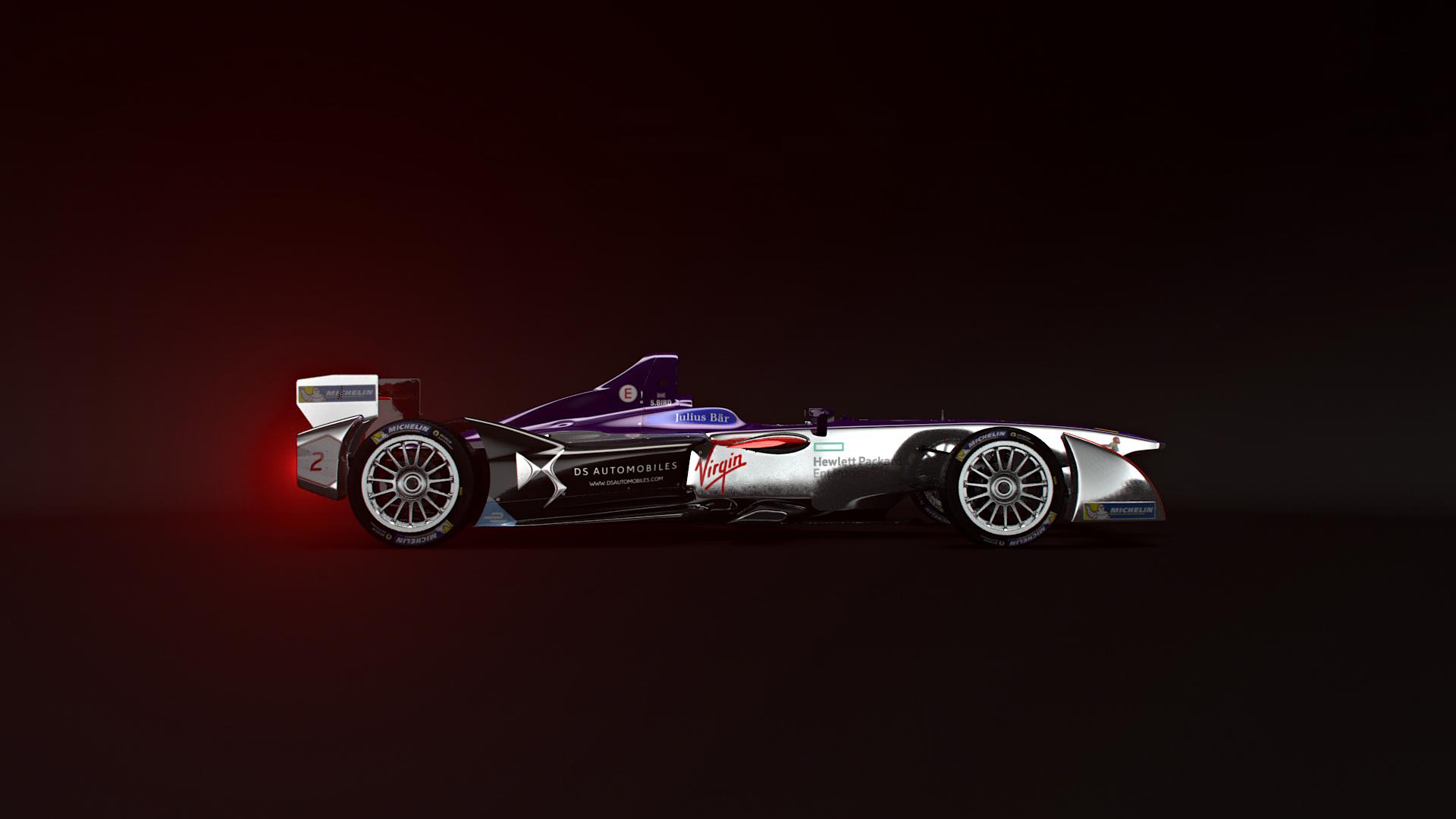 3D render of the DS Automobiles Formula E
