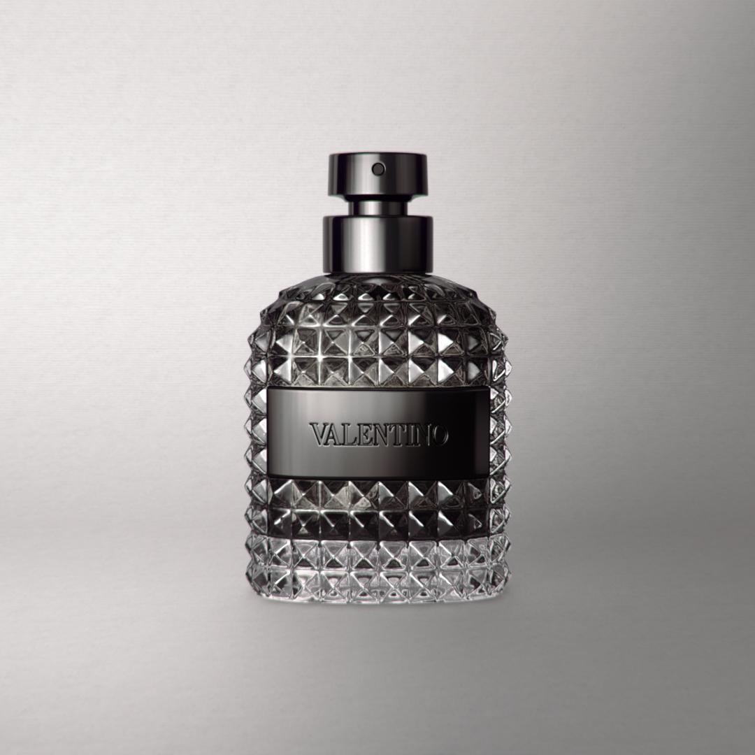 3D render of the Valentino Uomo fragrance