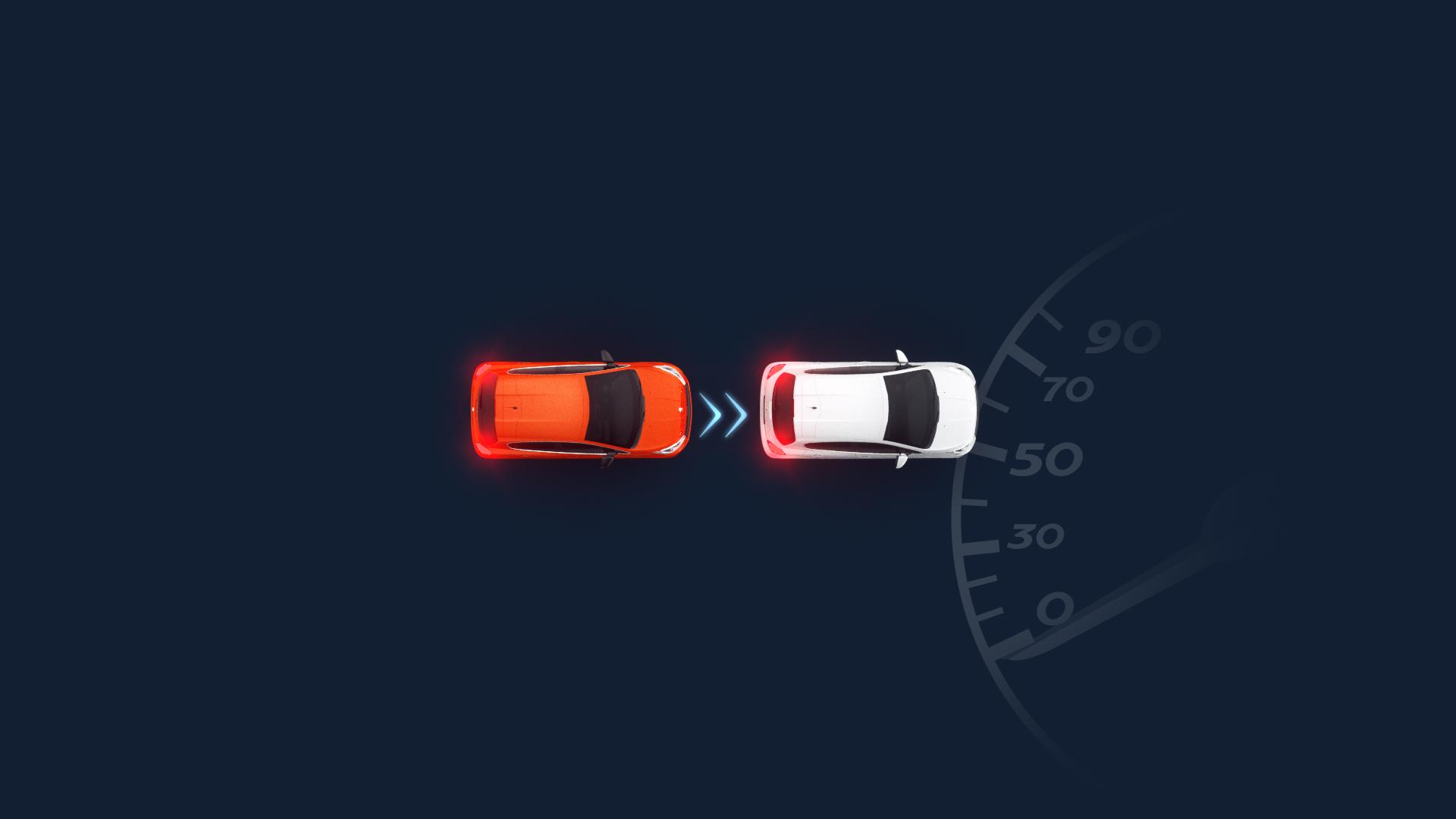 3D Motion Design animation of a car parking
