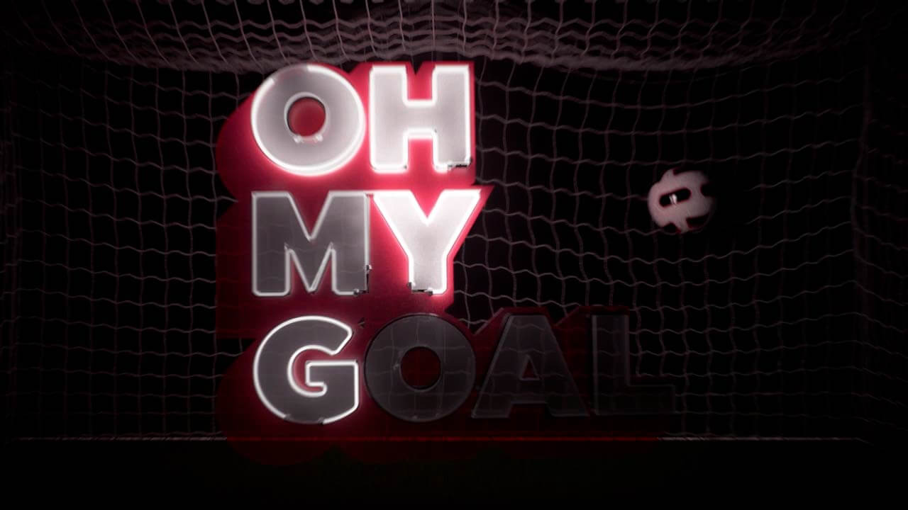 Animated 3D neons representing the Oh My Goal logo