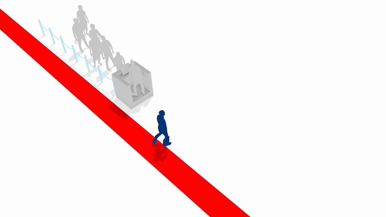 3D Motion design animation for Skyteam