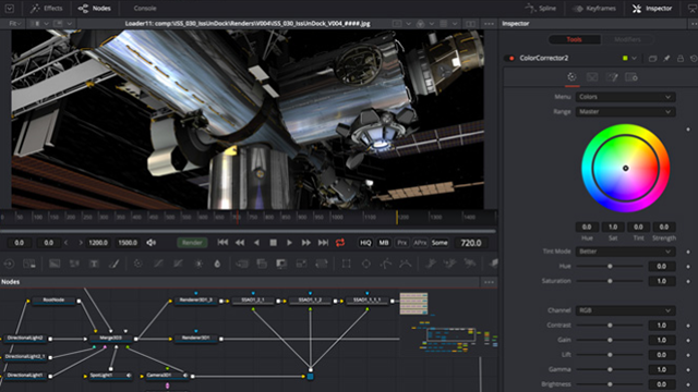 Screenshot of the Fusion user interface