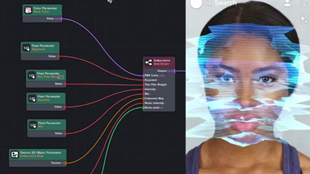 Screenshot of the Lens Studio user interface